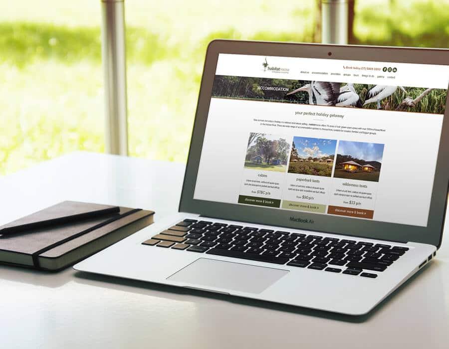 accomodation-website-design-noosa