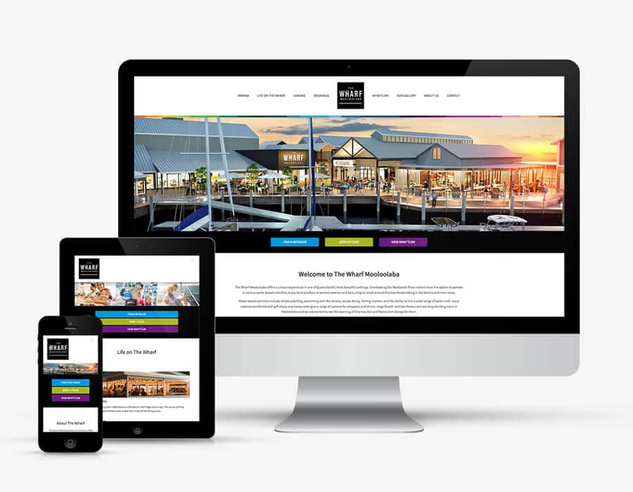 retail-website-design-mooloolaba-wharf